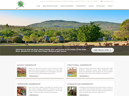 Responsive HTML Website - Property Investment