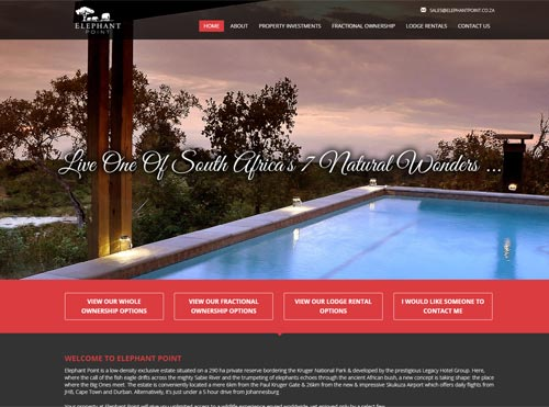 CMS Website Designed and SEO for Property Investment Company