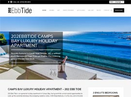 Luxury Holiday Apartment Website Design
